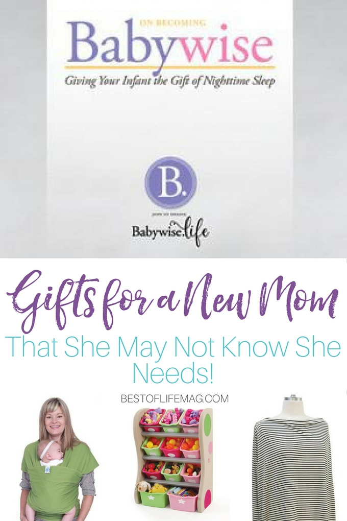 Finding gifts for a new mom can be hard! This list is sure to have something for everyone to enjoy. Even things that she might not know she needs! Gift Ideas for New Moms | Expecting Mothers Gift Guide | New Mom Ideas | Baby Shower Ideas | Baby Shower Gift Ideas #mom #gifts