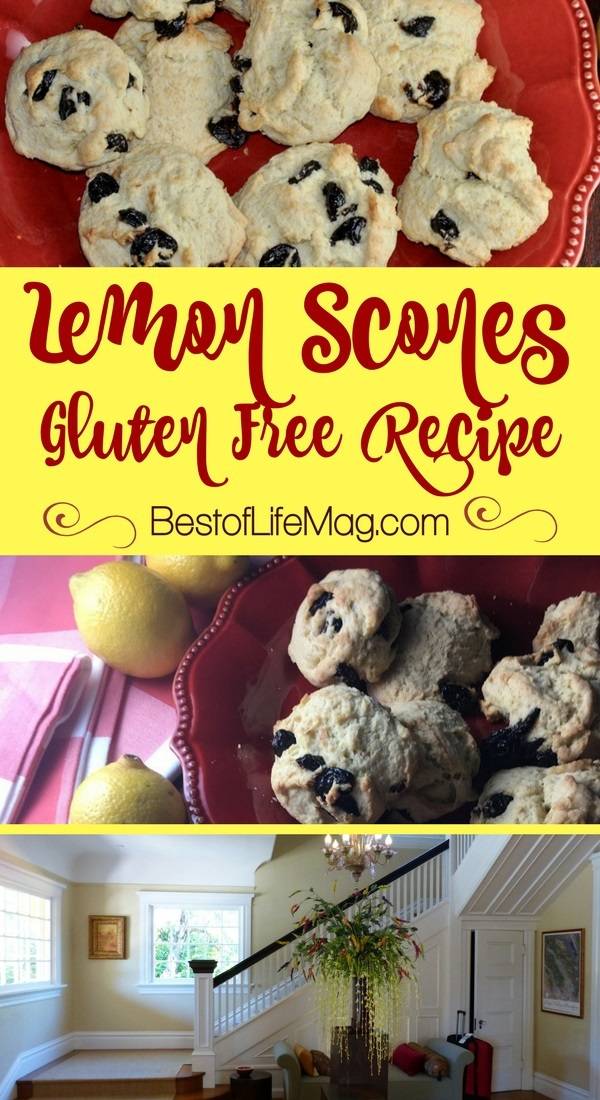I felt like family when I stayed at The Inn on First in Napa, a luxury bed and breakfast, and love this gluten free lemon scones recipe from their cookbook. Gluten Free Scone Recipes | Lemon Scones Recipes | Scones Recipe | Breakfast Recipes | Healthy Dessert Recipes #glutenfree #dessert via @amybarseghian