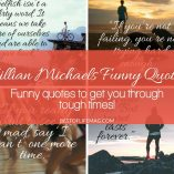 Use the laughter of Jillian Michaels funny quotes to get you through tough times whether you're just starting or near the end of your path to good health and wellness. Jillian Michaels Quotes | Quotes that Inspire | Motivational Quotes | Workout Ideas | Fitness Quotes | Jillian Michaels Workouts