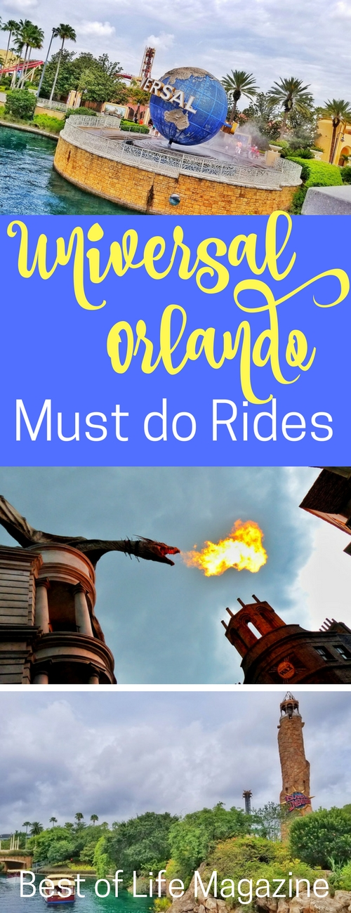 If you only have a day or two to make the most of the eats and rides at Universal Orlando, these are your must do rides at Universal that can be done in one long day or two shorter days. Universal Orlando Review | Things to do at Universal | Universal Orlando Tips | Travel Tips | Orlando Travel Tips #travel #orlando