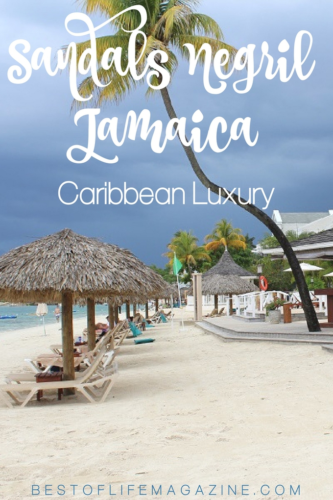 Experience casual, barefoot, Caribbean luxury at Sandals Negril Resort with the best Caribbean travel tips that will enhance your experience. Jamaica Resorts | Jamaica Travel Tips | Sandals Resorts | Sandals Travel Tips #Jamaica #travel