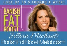 Jillian Michaels Banish Fat Boost Metabolism is a great cardio workout without any equipment needed! You can do an great workout at home in just 45 minutes.
