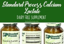Living with an allergy can be tough. This dairy free supplement, Standard Process calcium lactate, can help you get the nutrients you might be missing!How to Go Dairy Free | What is Dairy Free | How to Get Calcium with No Dairy | Dairy Free Calcium Supplements