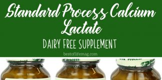 Living with an allergy can be tough. This dairy free supplement, Standard Process calcium lactate, can help you get the nutrients you might be missing! How to Go Dairy Free | What is Dairy Free | How to Get Calcium with No Dairy | Dairy Free Calcium Supplements