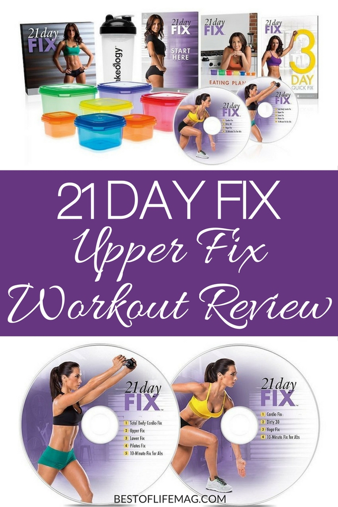 The 21 Day Fix Upper Fix workout program is an excellent way to burn calories, get in shape, and feel better both during and after using the 21 Day Fix program. Fitness Plans | Workout Ideas | 21 Day Fix Tips | Beachbody Workouts | Exercise Plans #workout #21dayfix via @amybarseghian