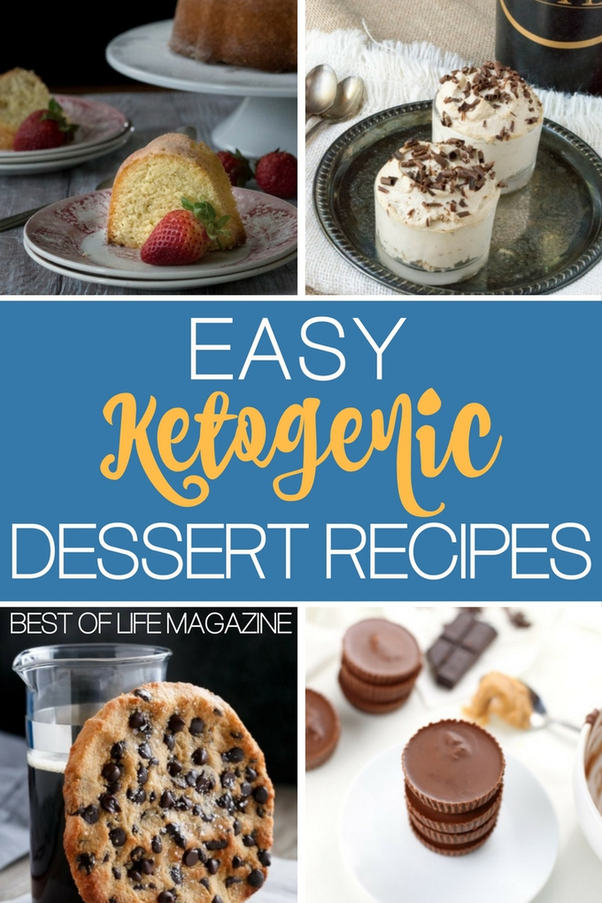 Easy Keto dessert recipes can help ensure that you don't stray from your diet just because your sweet tooth is acting up again. Keto Dessert Ideas | Ketogenic Dessert Recipes | Low Carb Dessert Ideas | Low Carb Recipes #keto #lowcarb