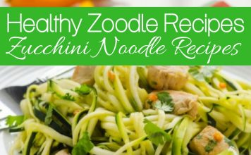 Zucchini noodle recipes are a great way to eat healthier, feel better and still enjoy those usually heavy noodle dishes without the guilt.