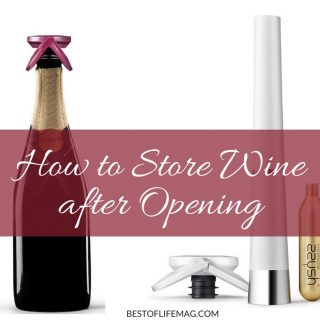 Drinking an entire bottle of wine in one sitting may not always be feasible. Learn how to store wine properly so you can enjoy even the most expensive bottle of wine one glass at a time. Does Wine Go Bad | How Long Until Wine Goes Bad | What Does Bad Wine Taste Like | How to Save Wine