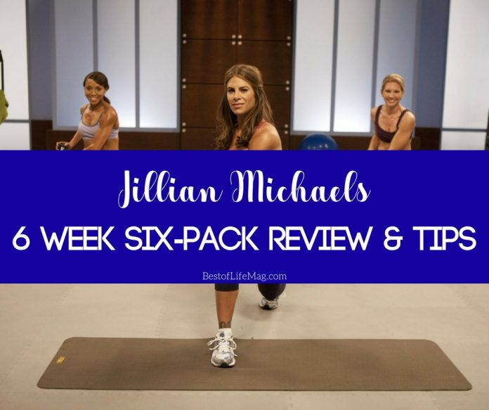 The Jillian Michaels 6 Week Six Pack system is tough, like all of her programs, but the results are undeniable. You'll be surprised how much you can do!