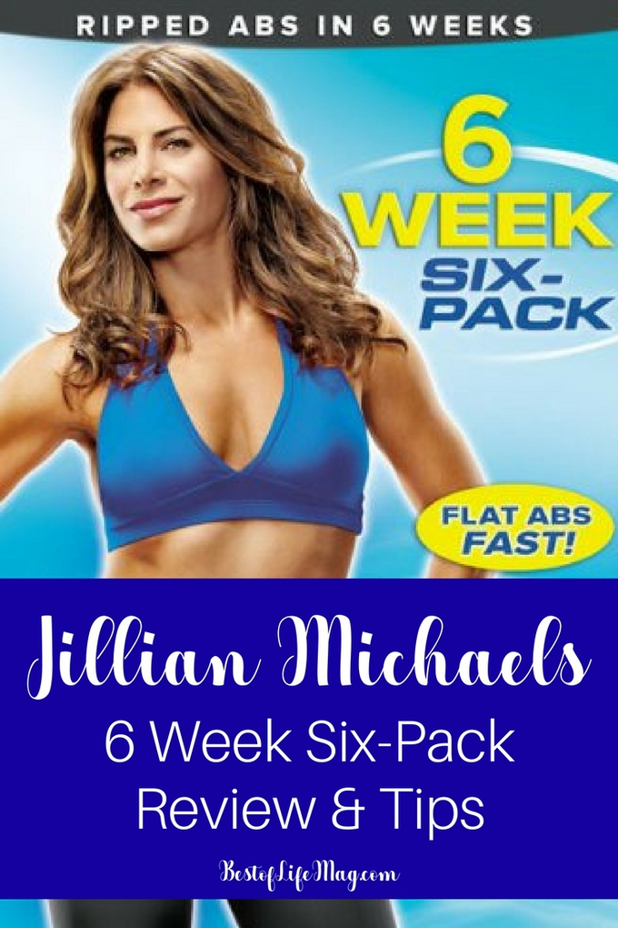 The Jillian Michaels 6 Week Six Pack system is tough, like all of her programs, but the results are undeniable. You'll be surprised how much you can do! Jillian Michaels Workouts | Jillian Michaels Ab Workouts | Workout Ideas for Abs #fitness #workout via @amybarseghian