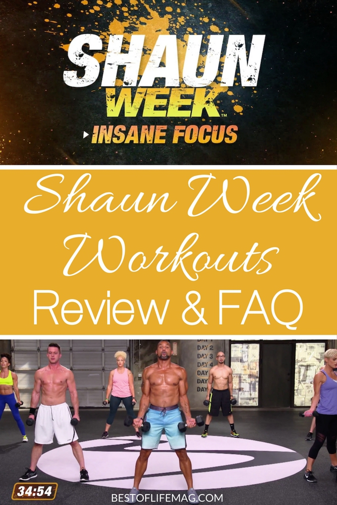 Shaun Week workouts are a great opportunity to get a jumpstart on a healthy lifestyle, or for those of you already working on that goal, you can use Shaun Week as a fun way to get in some extra workouts!