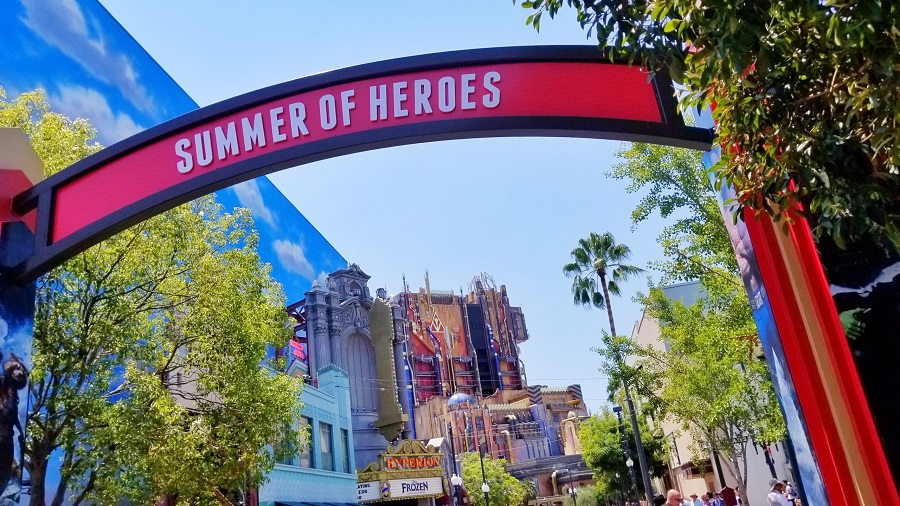 Summer of Heroes is the newest event happening at the Disneyland Resort.  With so much fun and excitement to immerse yourself in, it may awake the hero inside you.