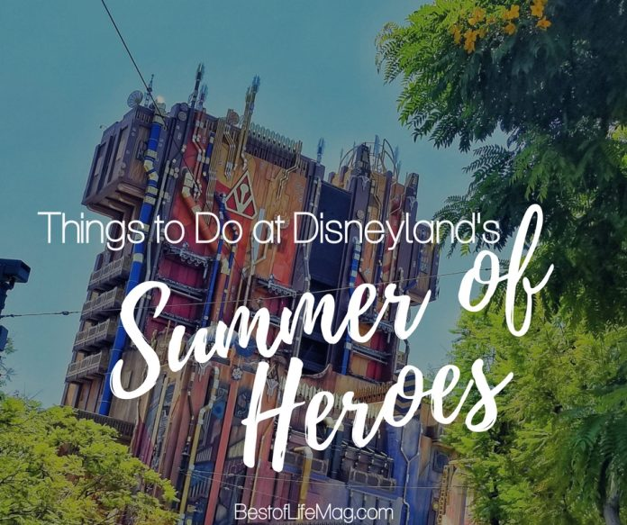 Summer of Heroes is the newest event happening at the Disneyland Resort adding so much fun and excitement it may wake the hero inside you.