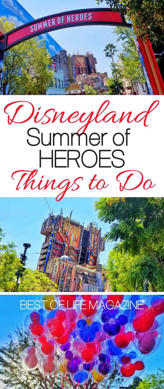 Summer of Heroes is the newest event happening at the Disneyland Resort adding so much fun and excitement it may wake the hero inside you. Disneyland Tips | Marvel at Disneyland | Disneyland Travel Tips | Disneyland Ideas #disneyland #marvel