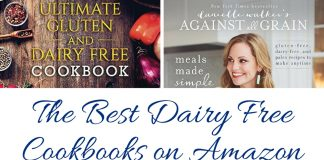 These are some of the best dairy free cookbooks on Amazon. These dairy free cookbooks make it so much easier to live with a dairy allergy! Dairy Free Recipe Cookbooks | Where to Find Dairy Free Recipes | How to Cook Dairy Free