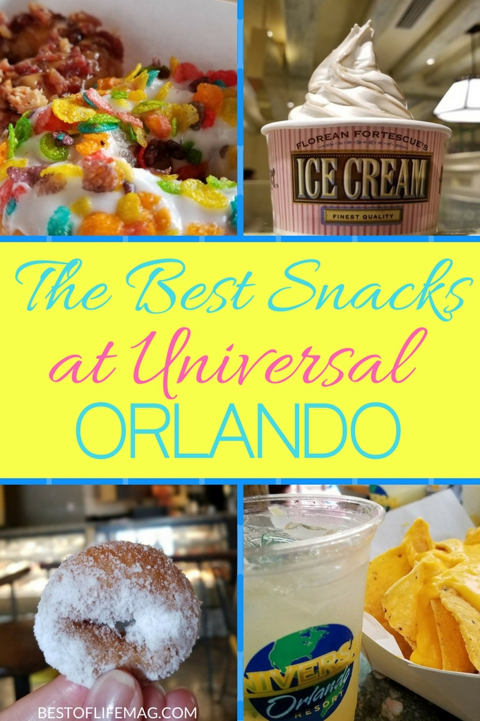 Try some of the best snacks at Universal Orlando and you won't regret forgetting that little snack bag in your hotel room.