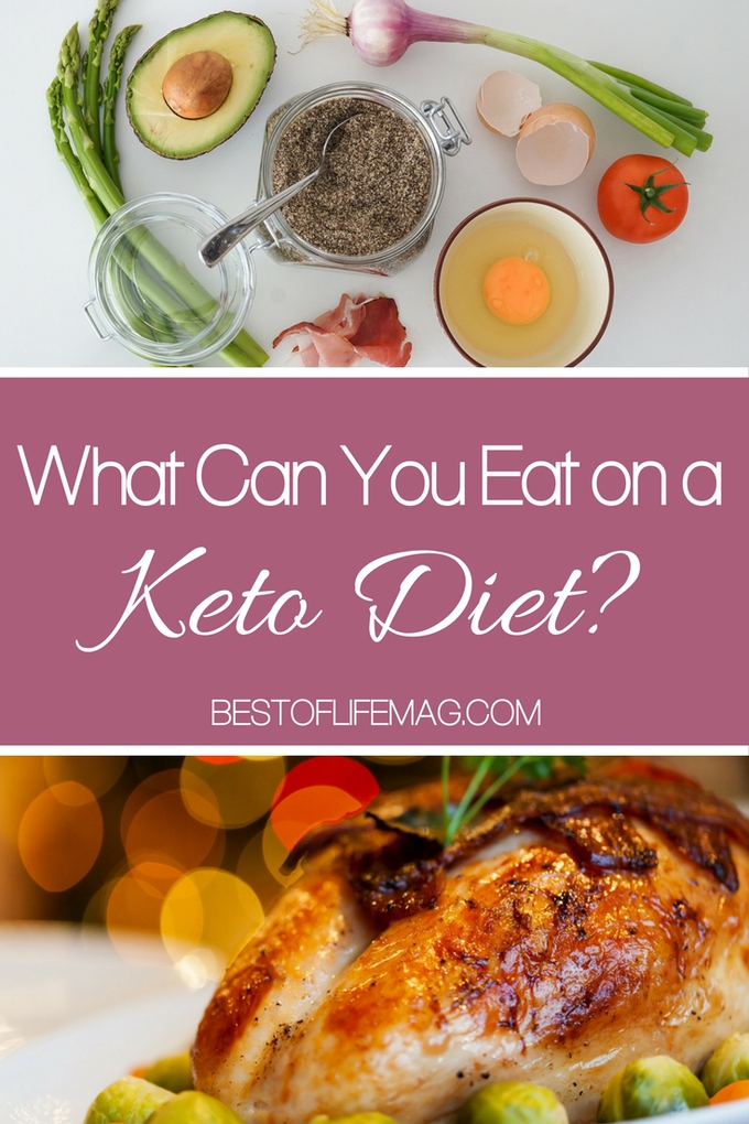 Figuring out what you can eat on a keto diet can be tough if you are just starting out. It can be helpful to know what you can eat on a ketogenic diet!  via @amybarseghian
