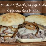 Crockpot beef sandwiches are so easy to make and very juicy, so tasty the whole family will love them! This shredded beef recipe is great for parties, busy weeknights, and more! How to Make Beef Sandwiches in a Crockpot | Crockpot Sandwich Recipes | Slow Cooker Sandwich Recipes | Crock Pot Recipes with Beef