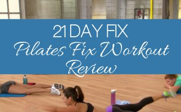 Next in the cycle of 21 Day Fix videos is the Pilates Fix workout. This workout contains some cardio and LOTS of pilates exercises to get you in shape fast!