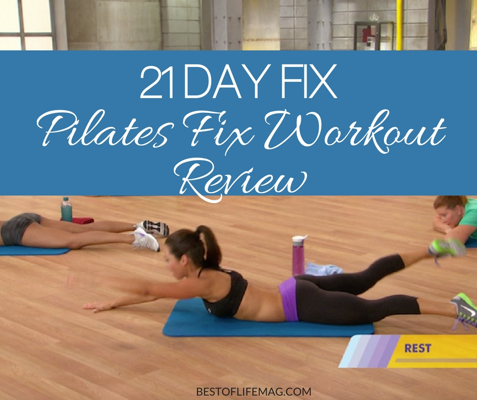 21 Day Fix Pilates Fix Workout Review