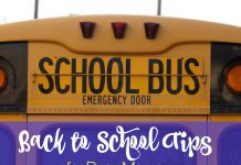 Back to school season is such a busy time of year! Stay sane - AND organized - with these back to school tips for busy moms.