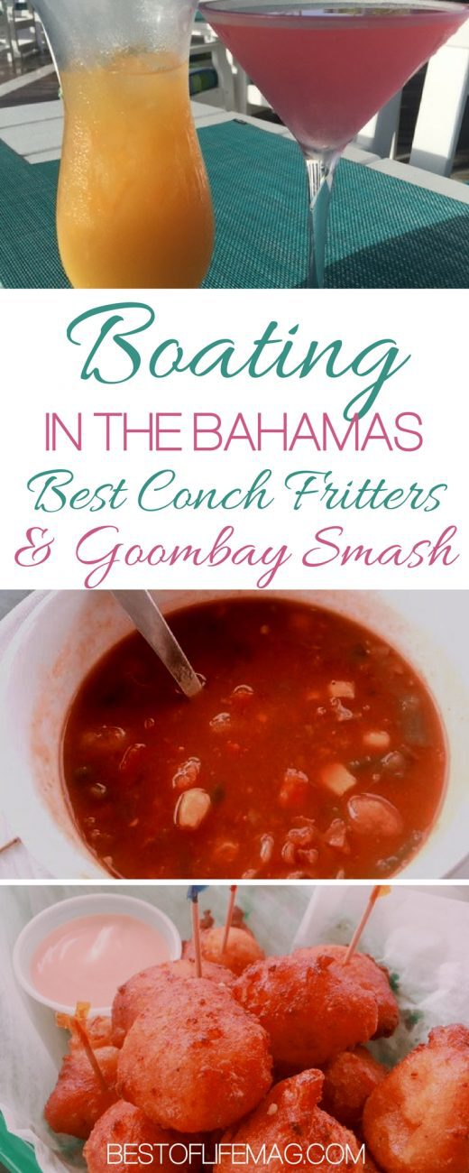 Boating in the Bahamas is easy once you know the rules for entering the Bahamas by boat. Whether traveling from Florida or beyond, you will want to find the best Conch Fritters and Goombay Smash. Bahamas Travel Tips | Boating Tips | Boating in the Caribbean | Caribbean Travel Tips | Bahamas Restaurants