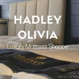 Hadley Olivia Luxury Mattress Shoppe supports our quality of life through a better night's sleep ensuring we wake with a healthy and productive outlook on our day. How to Get Good Sleep | Luxury Shopping | Shopping in Southern California | Shopping in Orange County