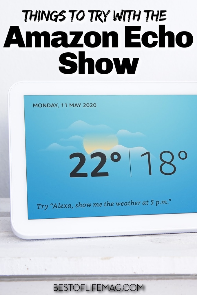 There are so many amazing things you can try with the Amazon Echo Show that will make life even easier in your smart home. Echo Show Hacks | Tips for Amazon Alexa | Tips for Echo Show | Echo Show in Kitchen | Echo Show 8 Tips | Echo Show Wallpaper | Echo Show Background | Hacks for Amazon Alexa | Amazon Alexa Skills | Skills for Echo Show #amazon #echo via @amybarseghian