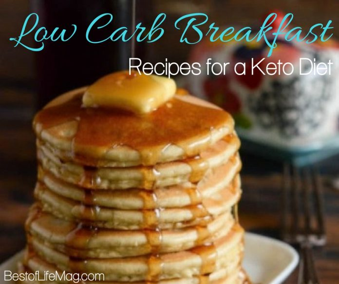 Low Carb Breakfast Recipes for a Keto Diet - The Best of Life Magazine