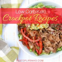 Use the knowledge of others to help you build out a complete menu of low carb keto crockpot recipes for lunch or any other meal of the day. Low Carb Lunch Recipes | Crockpot Recipes | Lunch Recipes | Easy Lunch Recipes | Light Lunch Recipes | Lunch Ideas for Work | Keto Crockpot Recipes