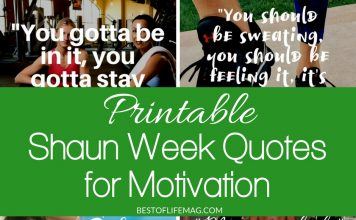 Printable Shaun Week quotes for workout motivation will have to ready to go, pushing yourself as hard as possible, and seeing results in no time! Motivational Quotes | Beachbody Workouts | Fitness Inspiration | Shaun T Quotes | Shaun Week Workouts | Beachbody Trainer Quotes