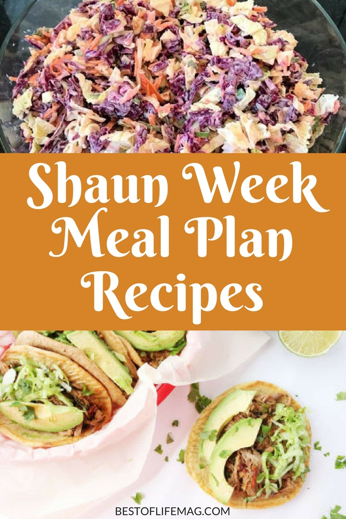 A Shaun Week Meal Plan is a great resource for both before, during, and after you start the program. These recipes are delicious, easy, and healthy! Beachbody Meal Plans | Weight Loss Meal Plans | Weight Loss Recipes | Ketogenic Recipes | 21 Day Fix Container | 21 Day Fix Meal Plan #shaunweek #recipes via @amybarseghian
