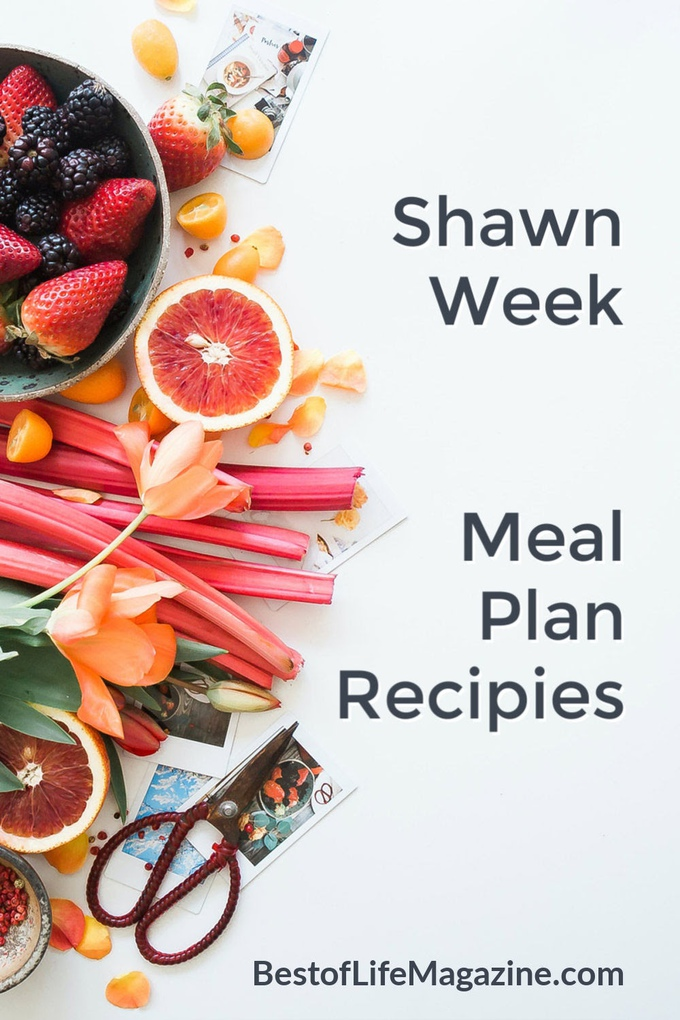 A Shaun Week Meal Plan is a great resource for both before, during, and after you start the program. These recipes are delicious, easy, and healthy! Beachbody Meal Plans | Weight Loss Meal Plans | Weight Loss Recipes | Ketogenic Recipes | 21 Day Fix Container | 21 Day Fix Meal Plan #shaunweek #recipes
