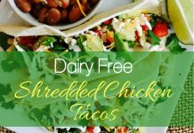 This Shredded chicken tacos crockpot recipe takes only minutes to prep; it truly is the perfect meal for your ketogenic low carb diet.
