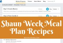 A Shaun Week Meal Plan is a great resource for both before, during, and after you start the program. These recipes are delicious, easy, and healthy!