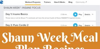A Shaun Week Meal Plan is a great resource for both before, during, and after you start the program. These recipes are delicious, easy, and healthy! Recipes to Use for Shaun Week | Recipes for Fitness | Recipes to Get Fit | Shaun Week Recipes