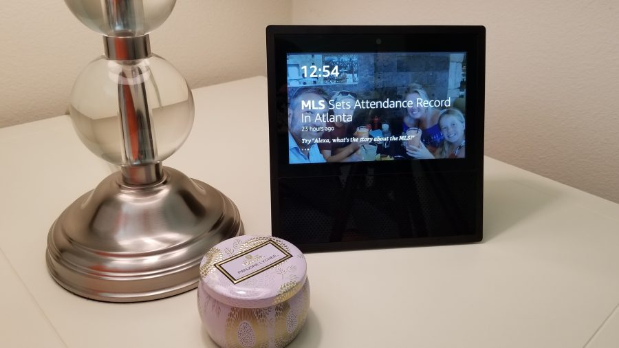 The Amazon Echo Show makes for the perfect tech gift by bringing loved ones closer and making life just that much easier. High Tech | Amazon Echo | Amazon Alexa | Echo Dot| Things to do with Alexa | Things to Buy on Amazon | Amazon Echo Tips | Amazon Echo Hacks | Things to Buy on Amazon