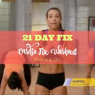 The 21 Day Fix Cardio Fix workout from Beachbody is a great cardio workout that will get the heart pumping to burn fat! Cardio Workouts | 21 Day Fix Cardio Workout | 21 Day Fix Review | How to do Cardio