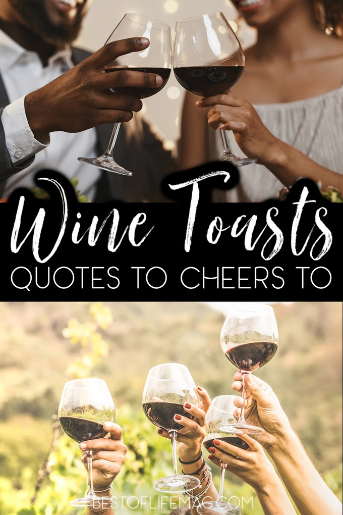 After you pour a glass of wine with friends and family you need something witty to say, why not use one of the best wine toast quotes to get you through? Wine Down   Wine Cheers Quotes   Champagne Toasts   Quotes to Say Cheers to   Happy Hour Cheers via @amybarseghian