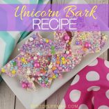 Make this unicorn bark recipe with your children for fantasy filled fun! Candy bark also makes a great party favor or small gift for friends and teachers. Unicorn Bark Video   Candy Bark Video   Recipes for Kids   Unicorn Party   Unicorn Recipe   Unicorn Food