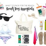 Packing a beach bag doesn't have to be difficult. It's all about figuring out the perfect items and what to pack for the beach. This list will help make sure you have all the essentials covered!