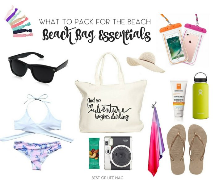 15+ Beach Bag Essentials: What to Pack for the Beach ...