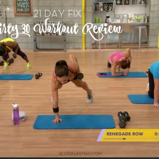 The 21 Day Fix Dirty 30 workout from Beachbody is an intense, full body workout, that will help you reach your fitness goals! Dirty 30 Workout | 21 Day Fix Workout Review | 21 Day Fix Dirty 30 Review | Fitness Tips