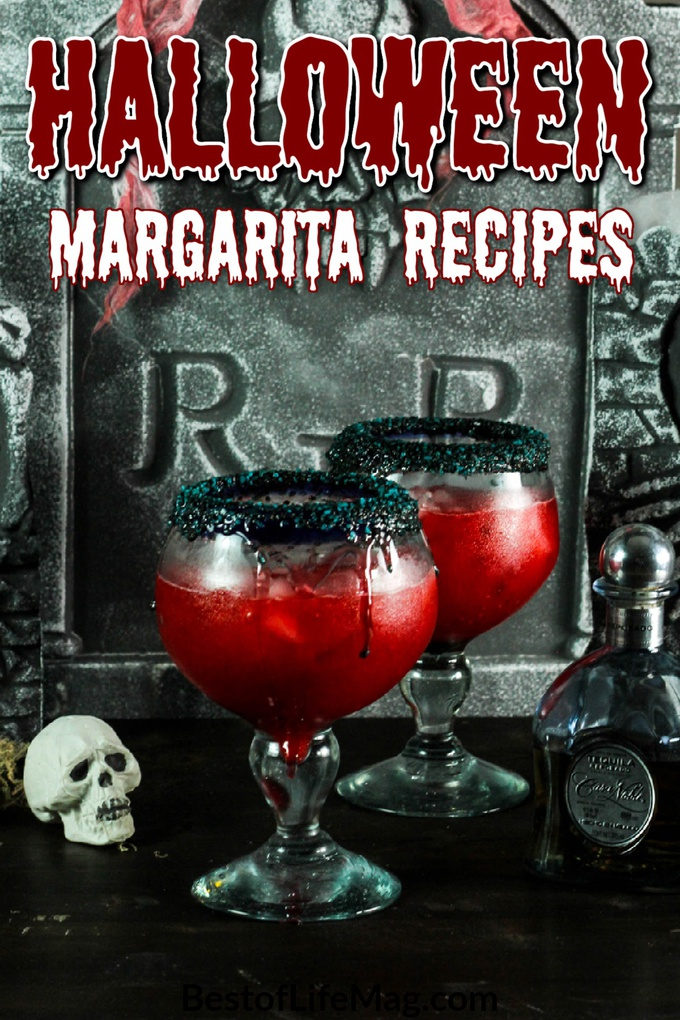 Halloween margarita drinks are brewing with flavor and fun for the holiday! If margaritas are not your thing then enjoy a Halloween cocktail recipe! Margaritas Punch Halloween | Frozen Halloween Margaritas | Margaritas for Halloween | Spooky Margarita Recipes | Bloody Cocktail Recipes | Halloween Party Cocktails | Fall Margarita Recipes | Cocktails for Fall #halloween #cocktails via @amybarseghian