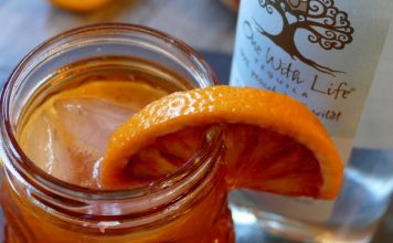 This bloody margarita cocktail recipe is perfect for Halloween! The added flavor from the Patron Mango Liqueur makes offers a unique twist. Margarita Recipes   Blood Orange Cocktails   Blood Orange Margarita Recipes   Halloween Drink Recipes   Halloween Tequila Recipes   Tequila Cocktails