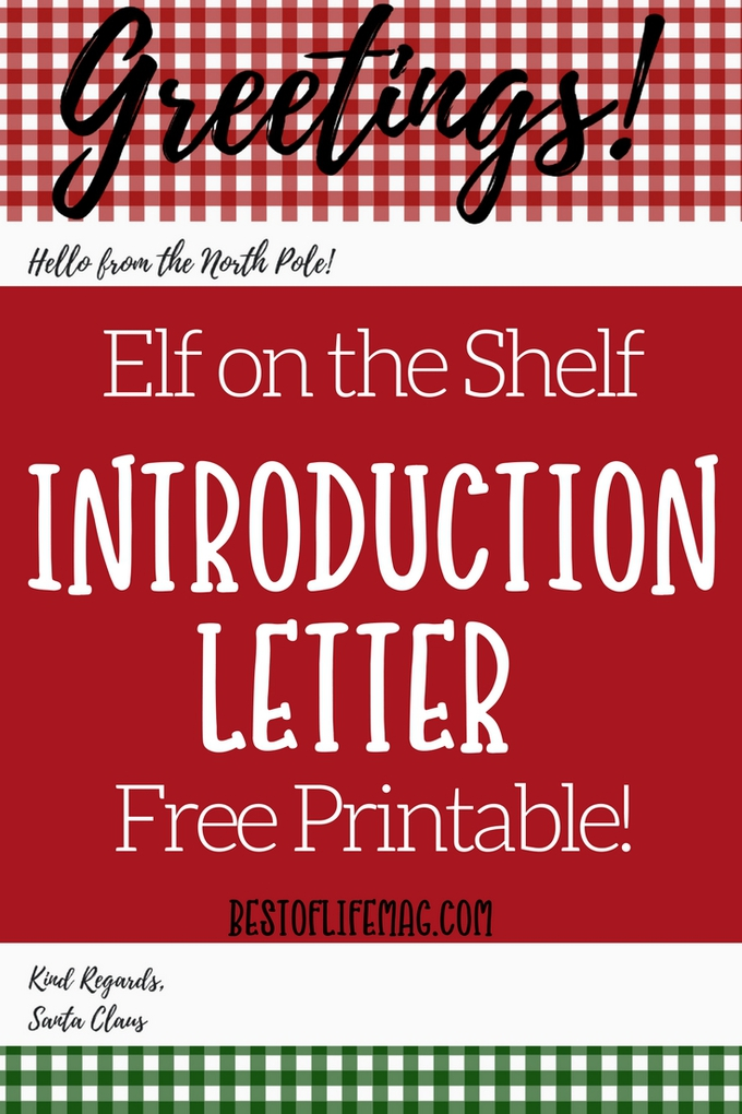 Welcome your Elf on the Shelf with this fun, free and most importantly memory-making Elf on the Shelf introduction letter printable. Introduction Ideas for Elf on a Shelf | Elf on The Shelf Printables | Elf on The Shelf Welcome Back Ideas | Introducing Elf on The Shelf | Family Holiday Tradition Ideas | Christmas Tradition Ideas for Families #elfontheshelf #printables