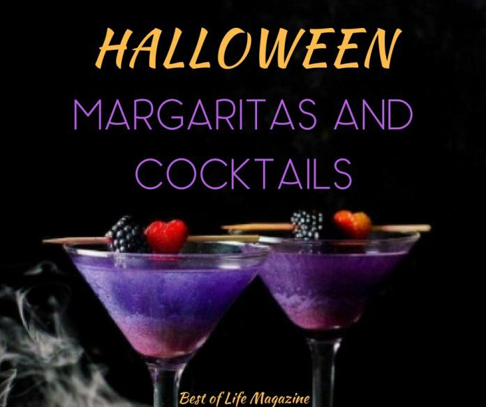 Halloween margarita drinks are brewing with flavor and fun for the holiday! If margaritas are not your thing then enjoy a Halloween cocktail recipe! Either way, we know you are just here for the 'boos'. Halloween Food | Halloween Drinks | Halloween Booze | Halloween Boozy Ideas | Halloween Party Ideas | Halloween Ideas for Adults