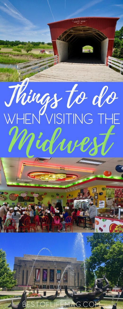 There are so many things to do when you have a visit in the Midwest that are perfect for families or a solo trip! The only thing left is to build your list. Things to do in Wisconsin | Things to do in the Midwest | Midwest Travel Tips | Things to do in Illinois | Things to do in Kansas | Things to do in Indiana | Things to do in Iowa  via @amybarseghian