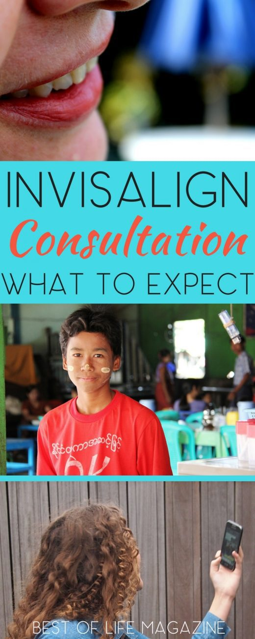 Wondering what to expect at an Invisalign consultation?  Let us walk you through the experience step by step. What is Invisalign | Invisalign vs Braces | Invisalign Tips | Orthodontics What to Expect via @amybarseghian