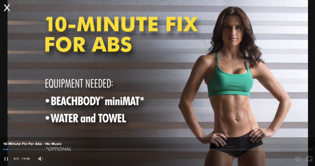 21 Day Fix 10 Minute Fix for Abs is a workout that you can choose to add to your daily routine. It's just 10 minutes and it's all abs! 21 Day Fix Workouts | 21 Day Fix Tips | 21 Day Fix Review | Ab Workouts | How to Get Abs